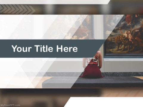 Free Art Museum PPT Template