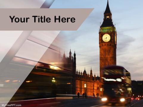 Free Big Ben London PPT Template