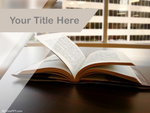 Free Book PPT Template