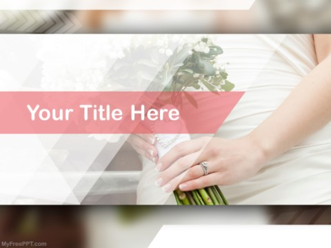 Free Bridal Photography PPT Template