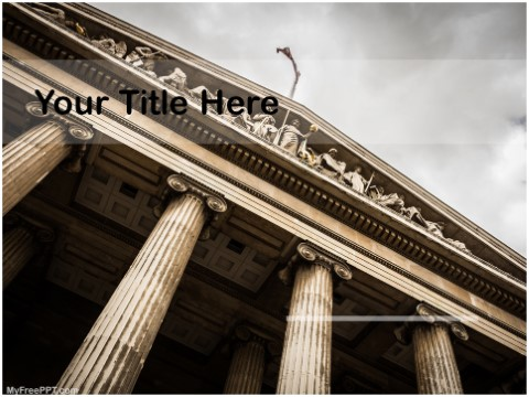 Free British Museum PPT Template