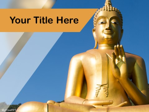 Free Buddhism PPT Template