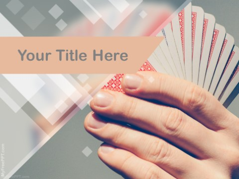 Free Cards Tricks PPT Template