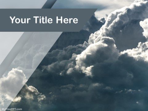 Free Clouds PPT Template
