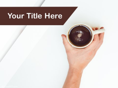 Free Coffee And Health PPT Template