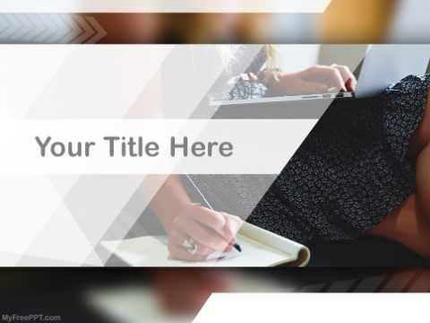 Free Copy Writing PPT Template