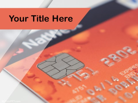 Free Credit Card PPT Template