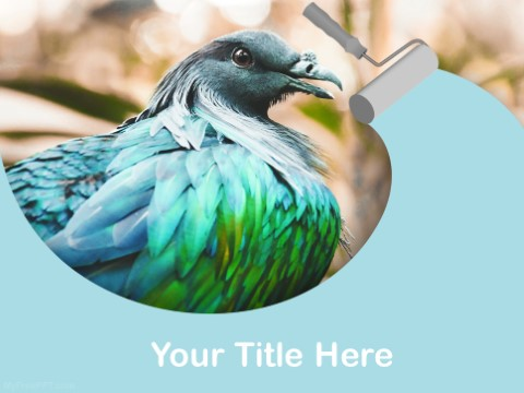 Free Endangered Bird PPT Template