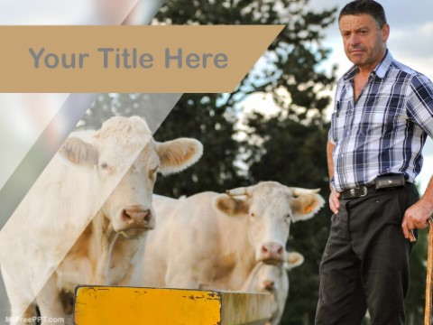 Free Farmer PPT Template