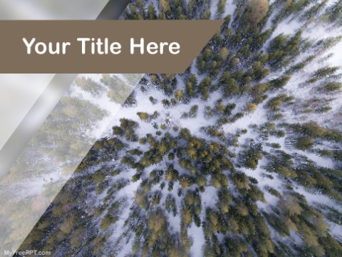 Free Forest Conservation PPT Template