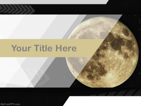 Free Full Moon PPT Template