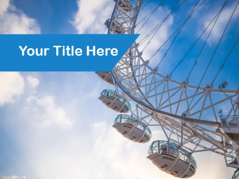 Free Giant Wheel PPT Template