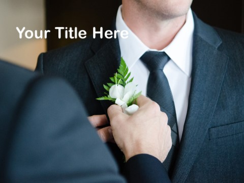 Free Groom PPT Template