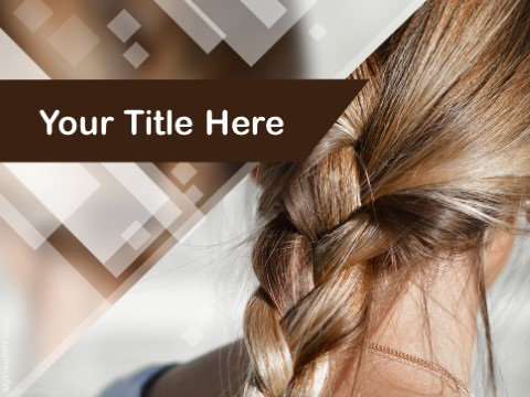 Free Hairstyle PPT Template