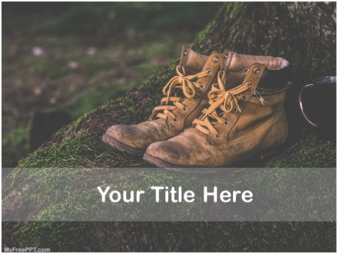 Free Hiking PPT Template