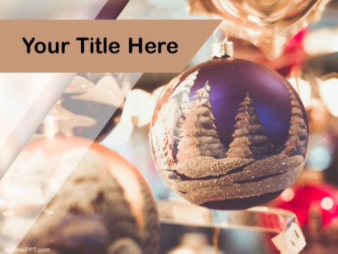 Free Holiday Season PPT Template