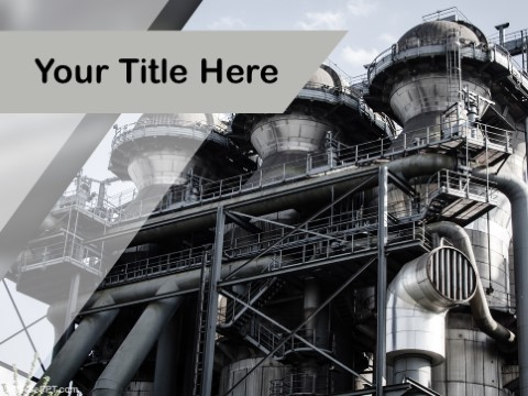 Free Industrial Factory PPT Template