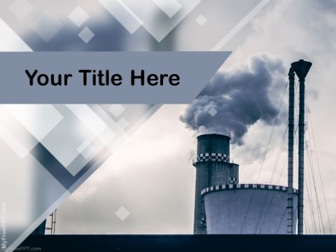 Free Industrial Smoke Pollution PPT Temp