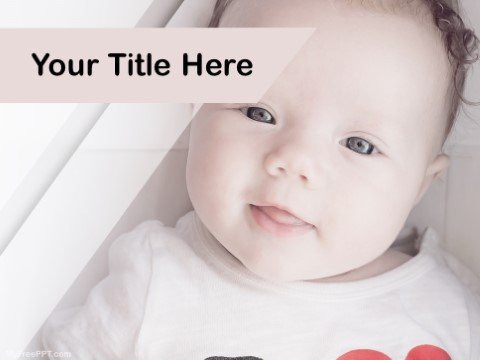 Free Infant Photography PPT Template