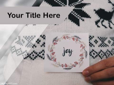 Free Joy  PPT Template