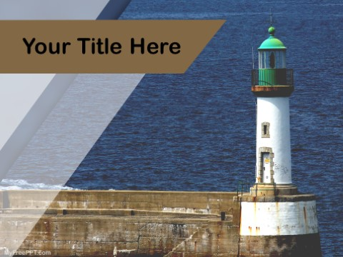 Free Lighthouse PPT Template