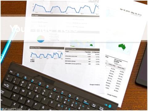Free Marketing Statistics PPT Template
