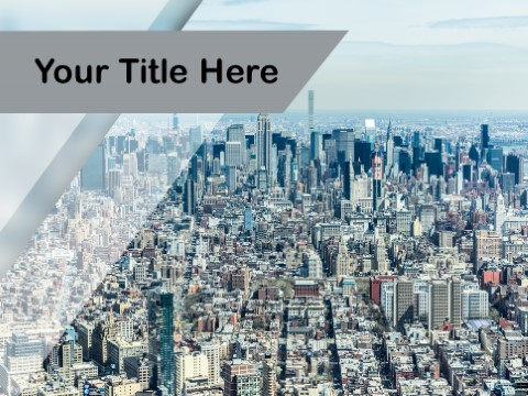 Free Metropolis City PPT Template