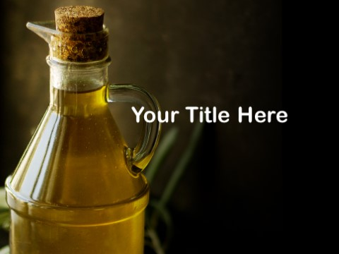 Free Olive Oil PPT Template