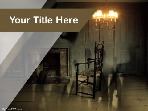 Free Paranormal Activities PPT Template