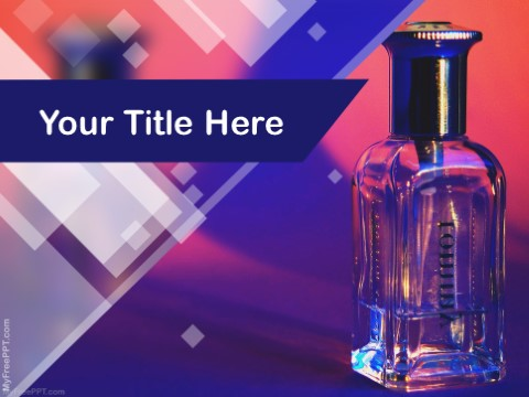 Free Perfume PPT Template