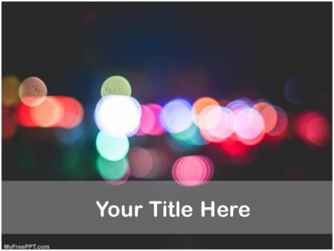 Free Photography Tricks & Tips PPT Templ