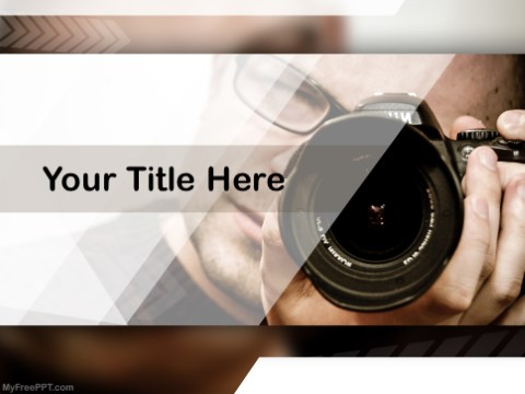 Free Professional Photography PPT Templa