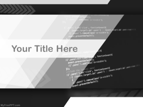 Free Programming PPT Template