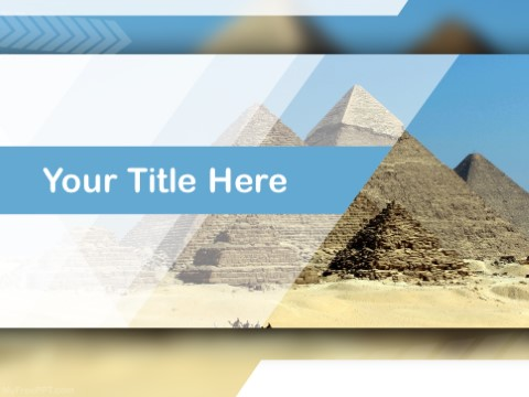 Free Pyramids PPT Template