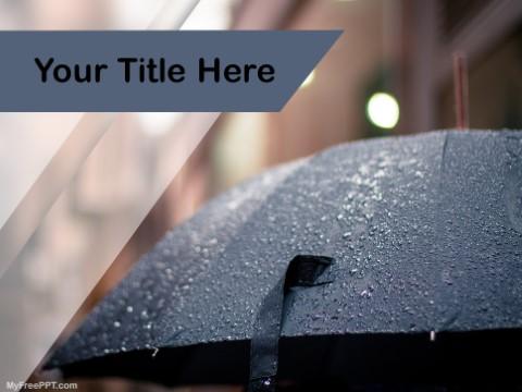 Free Rain PPT Template