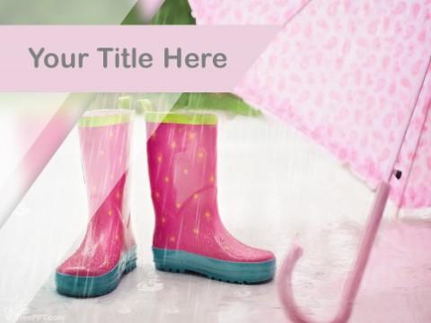 Free Rain Season PPT Template