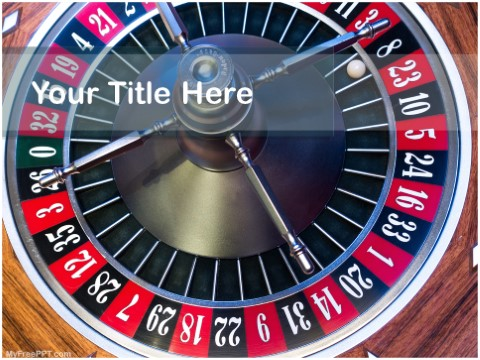 Free Roulette Wheel PPT Template