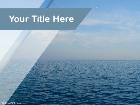 Free salt water ppt template download free powerpoint ppt free salt water ppt template toneelgroepblik Images