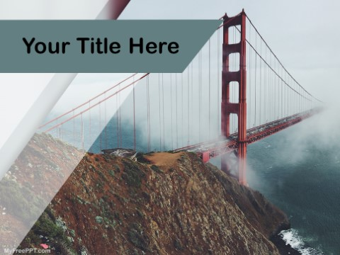 Free San Francisco PPT Template