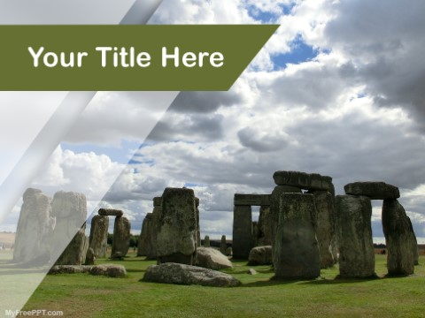 Free Stonehenge PPT Template