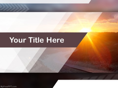 Free Sunrise PPT Template