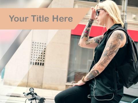 Free Tattoo Art PPT Template
