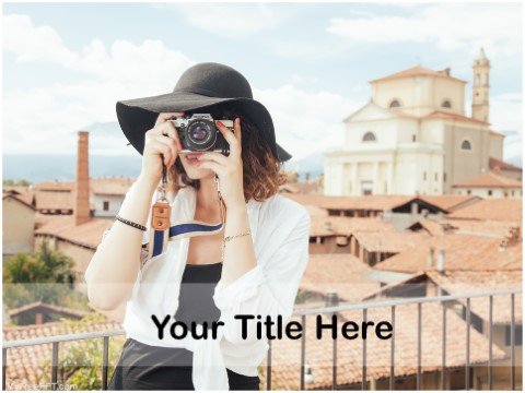Free Travel Photography PPT Template