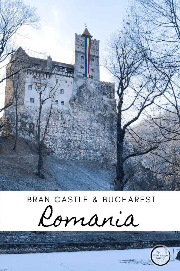Places to visit in Romania - castles of Transylvania.  A day trip from Bucharest.