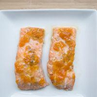 Ginger Peach Salmon