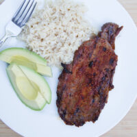 Grilled Southwestern Steaks