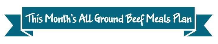 Ground Beef Banner