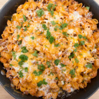 Cheesy Hamburger Helper - MyFreezEasy