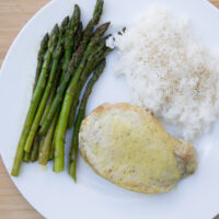 Baked Honey Mustard Pork Chops - MyFreezEasy