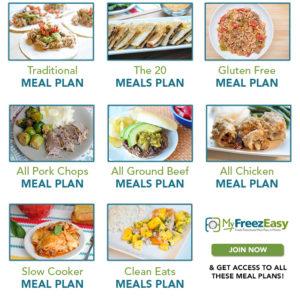 July Freezer Meals
